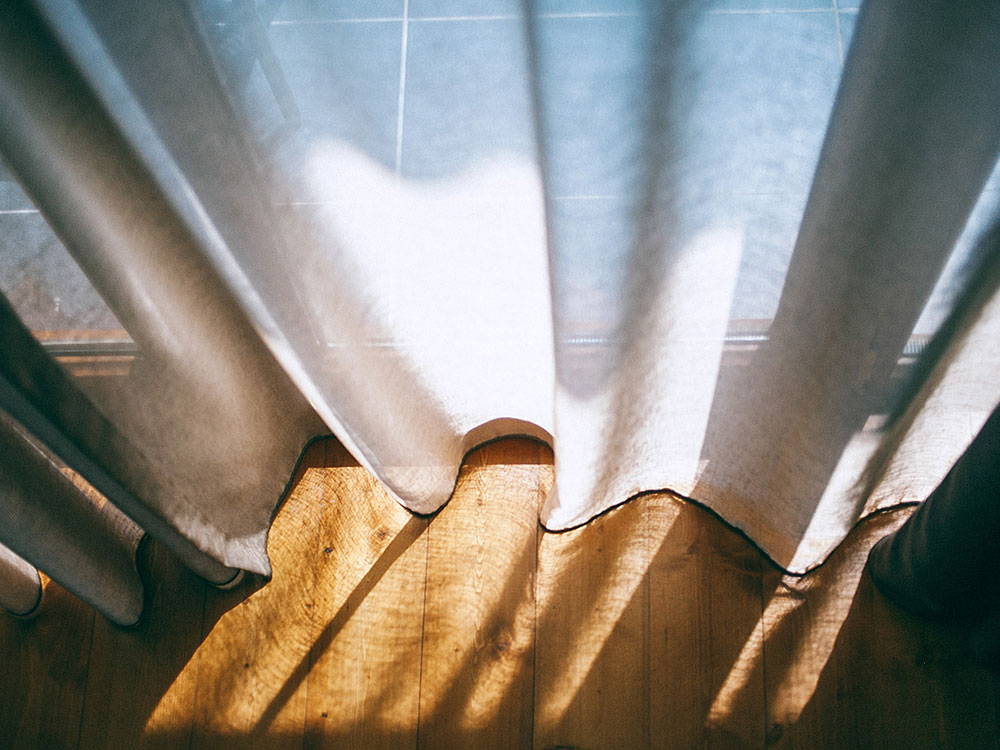 Sonneneinstrahlung auf Ihrem Parkettboden