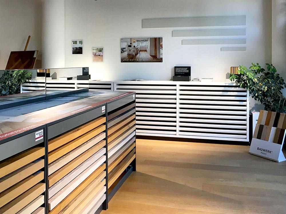 PARKETTONLINE Wenisch Holz Showroom