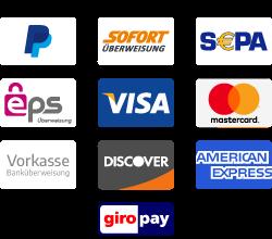 PARKETTONLINE Zahlungsarten